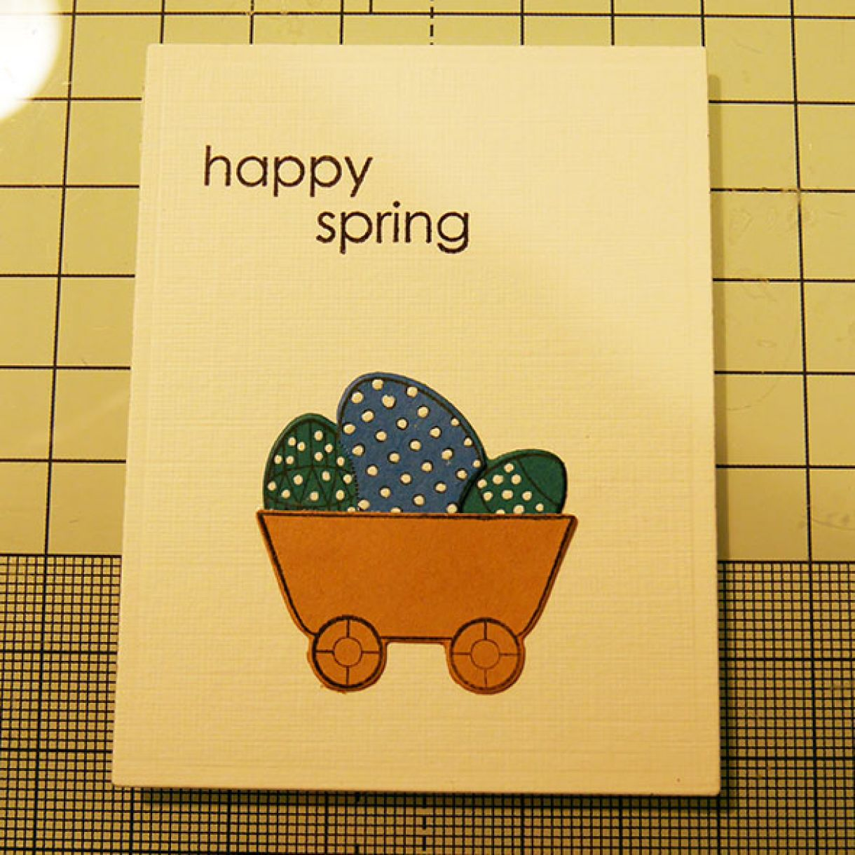 Spring Chicks Card 6