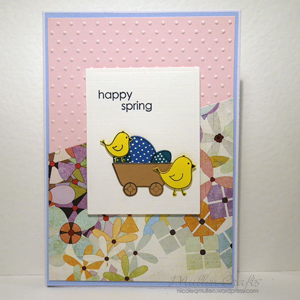 Spring Chicks Card 7