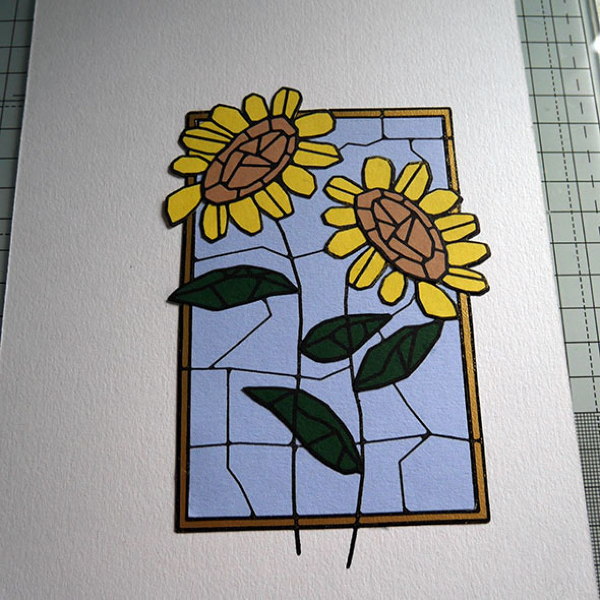Stained Glass Paper Piecing 10