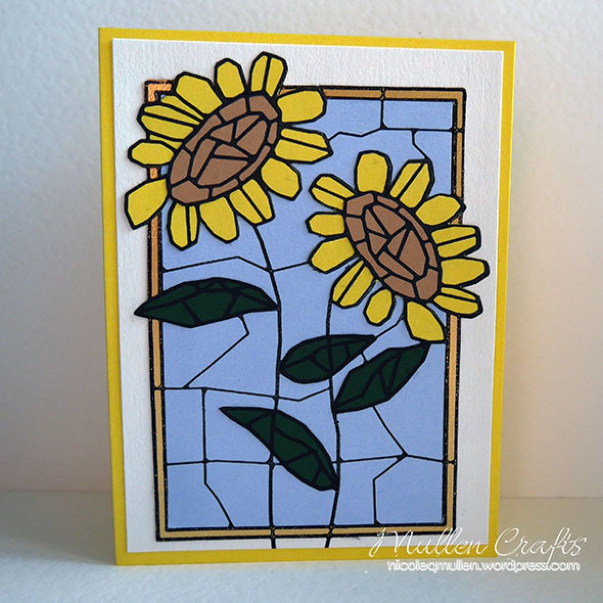 Stained Glass Paper Piecing 13