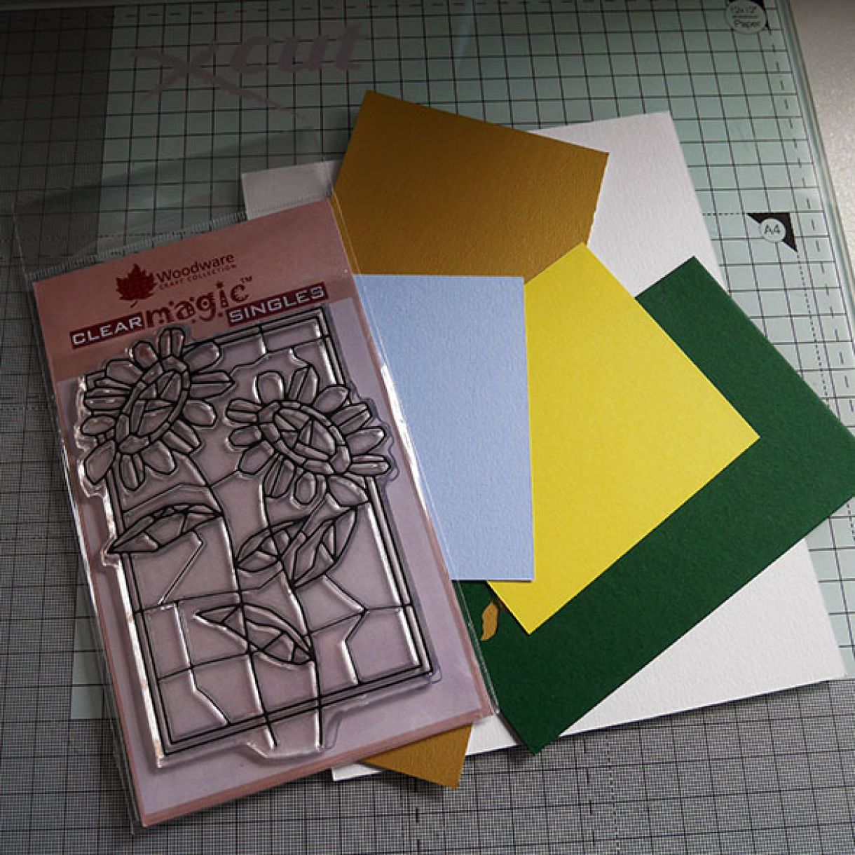 Stained Glass Paper Piecing 1