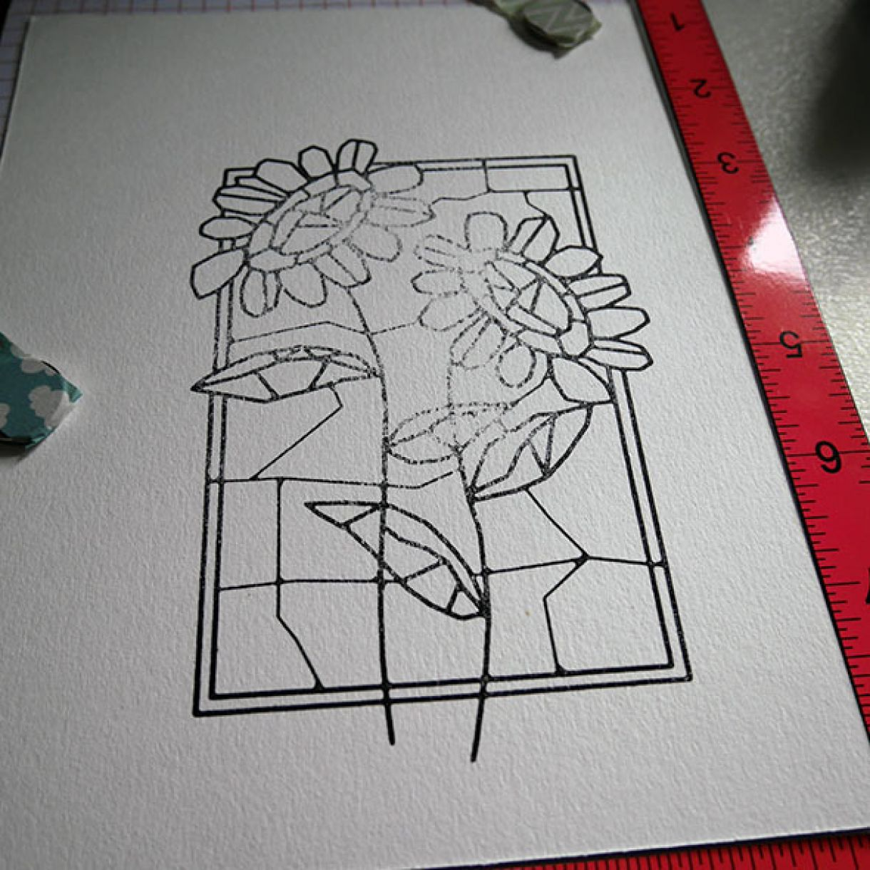 Stained Glass Paper Piecing 3