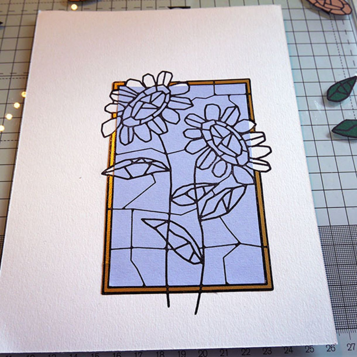 Stained Glass Paper Piecing 8