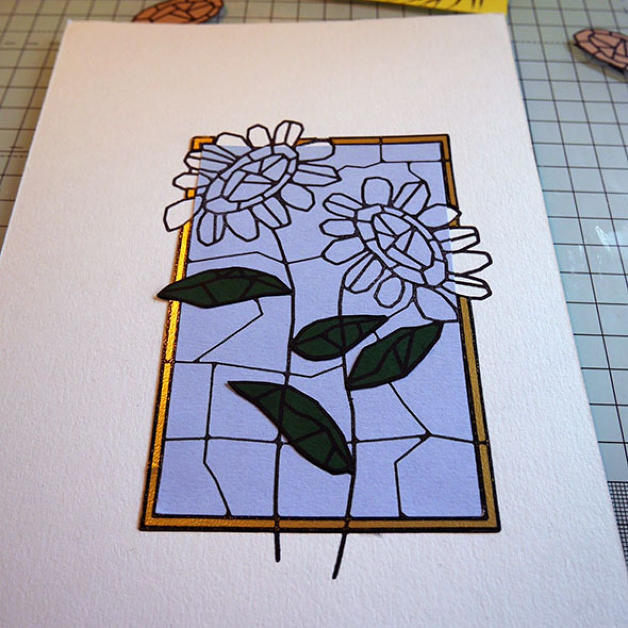 Stained Glass Paper Piecing 9