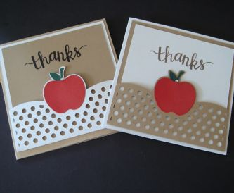 More Teacher Thank You Card Ideas!