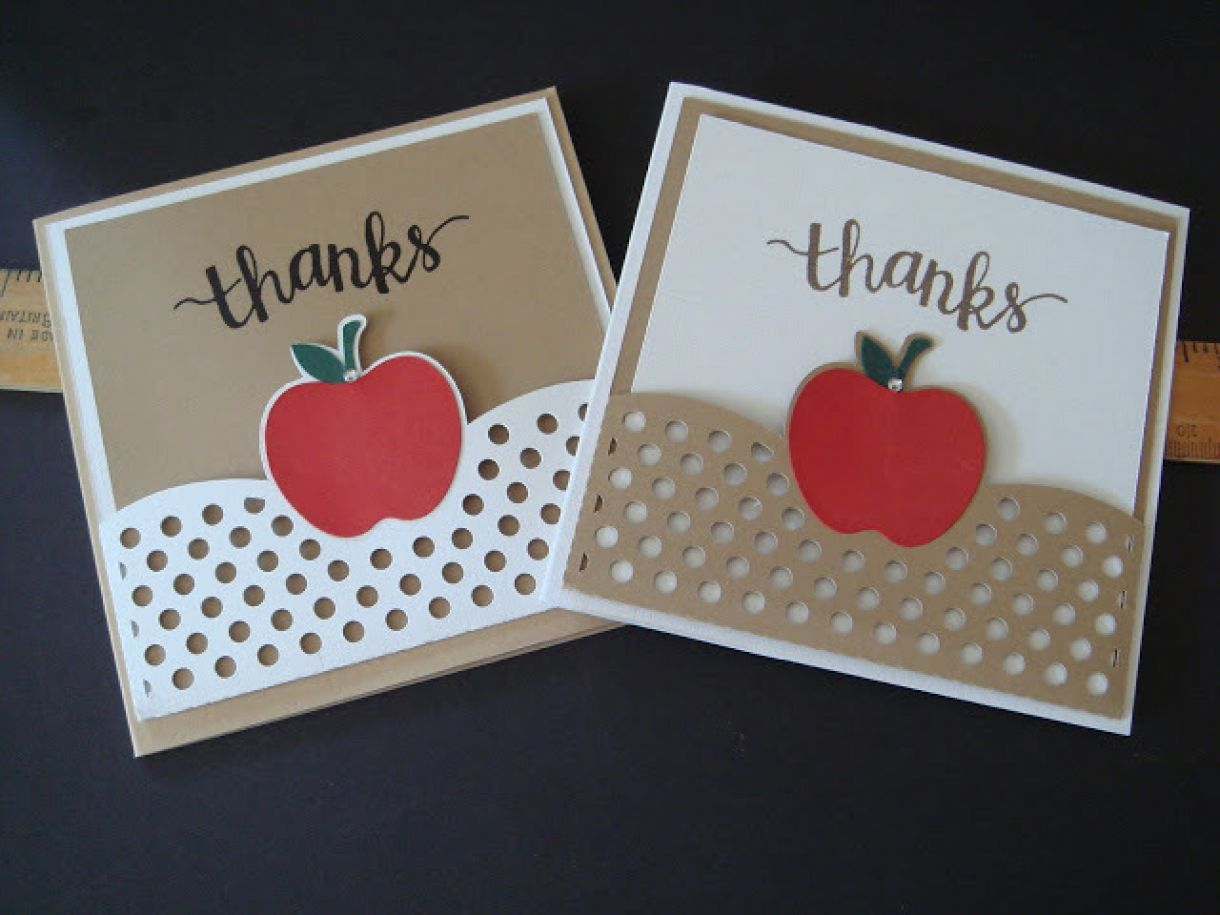 Classroom Thank You Ideas ~ More teacher thank you card ideas