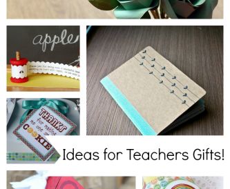 Papercraft Tutorials! - Teacher Gift Ideas