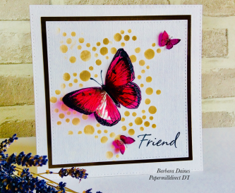 A Butterfly Card For a Friend