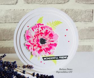 Pretty In Pink Circular Card