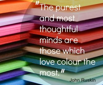 Creative Quote for your Craft Room - Colour