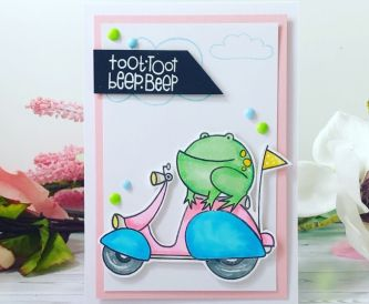 Toot Toot Fun Card