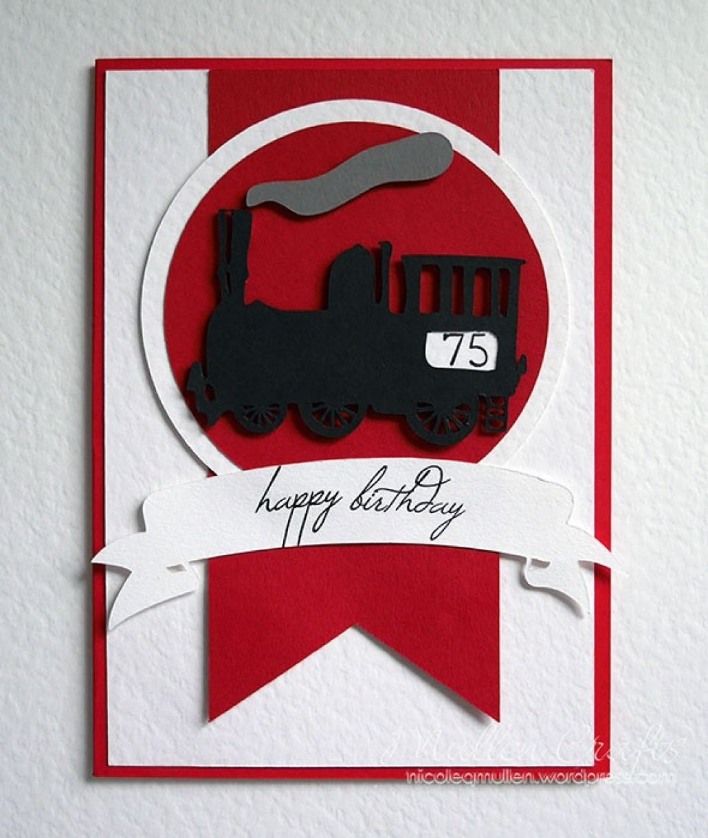 Train Bday Card Nicole 1