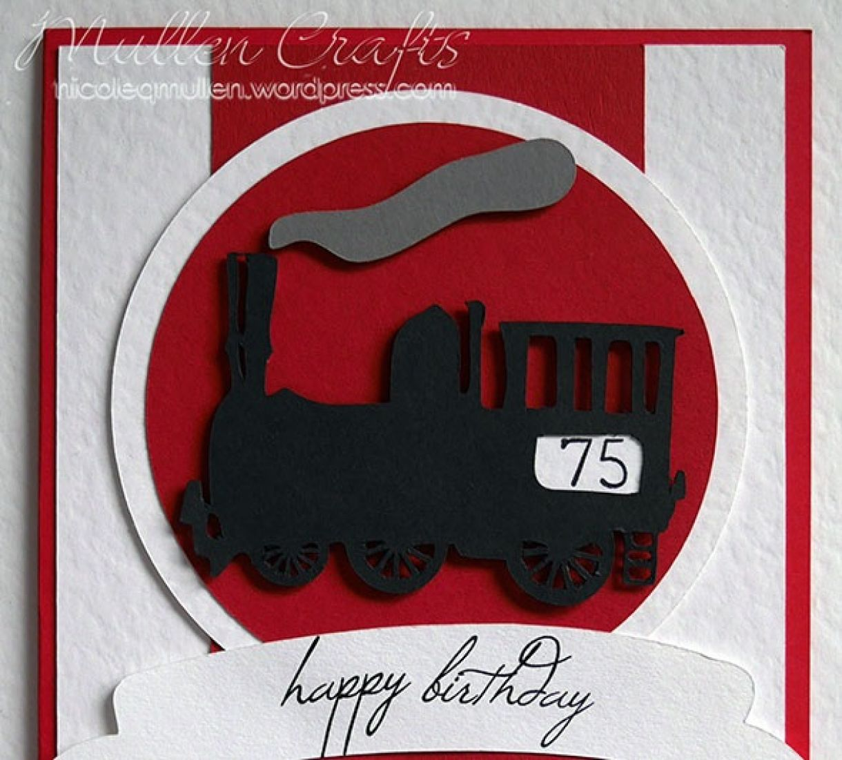 Train Bday Card Nicole 2