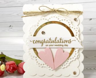 Congratulations Wedding Day Card