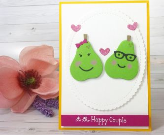 Anniversary Card- To The Happy Couple Card