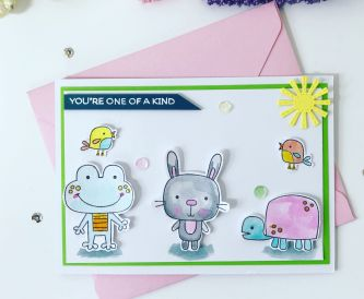 How To Make A You're One Of A Kind Card