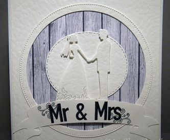 How To Make A White Wedding Card