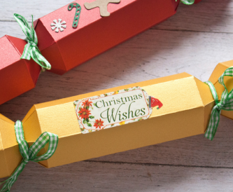 Christmas Cracker Box