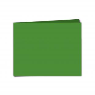 "7""x 5"" Apple Green Card Blanks"