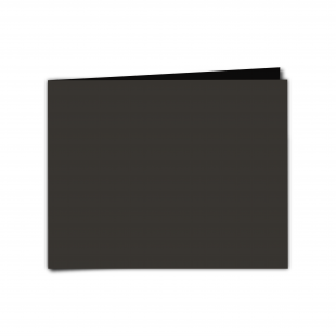 "7"" x 5""  Black Card Blanks"