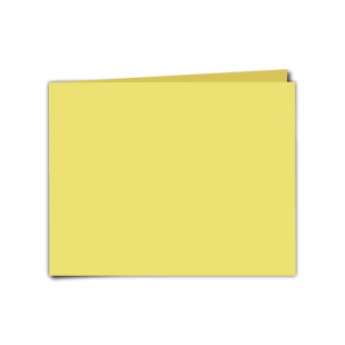 """Giallo Woodstock Card Blanks Double sided 285gsm-5""""x7""""-Landscape"""