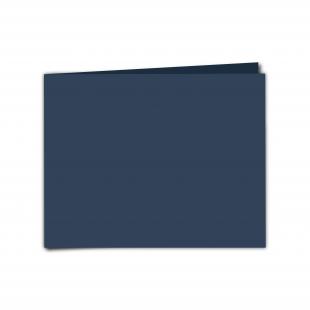 "7"" x 5"" Navy Card Blanks"