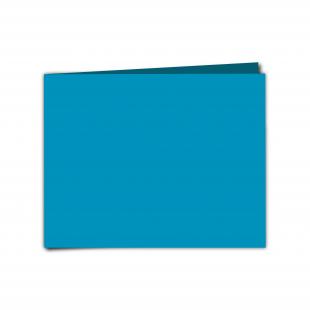 "7"" x 5"" Ocean Blue Card Blanks"