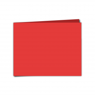 "7"" x 5"" Post Box Red Card Blanks"