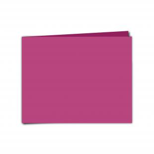 "7"" x 5""  Raspberry Pink Card Blanks"