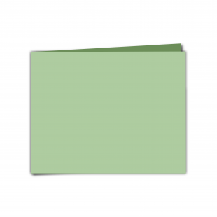 "7"" x 5"" Spring Green Card Blanks"
