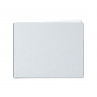 """7"""" x 5"""" Ultra White Pearlised Card Blanks"""