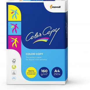A4 Mondi Color Copy Paper White 160gsm | 250 Sheets