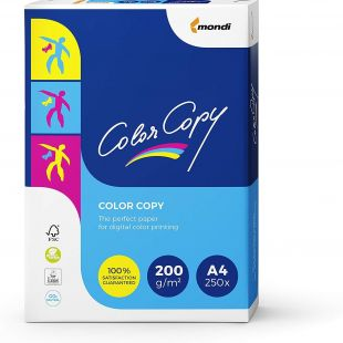 A4 Mondi Color Copy White 200gsm | 250 Sheets
