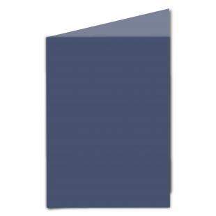 A5 Portrait Blu Sirio Colour Card Blanks