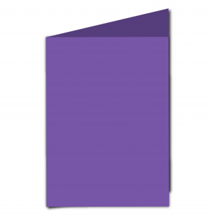 A5 Portrait Dark Violet Card Blanks