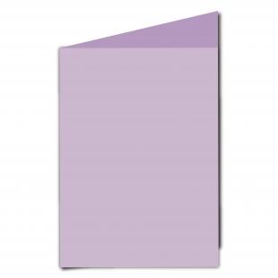 A5  Card  Blank  Lilac