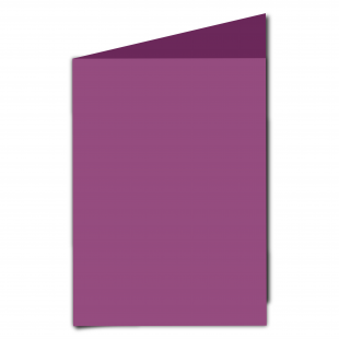 A5 Purple Grape Card Blanks