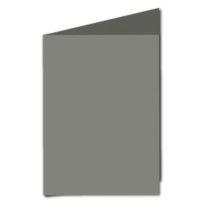 A5 Card Blank Slate Grey 01