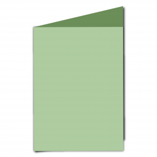 A5 Spring Green Card Blanks