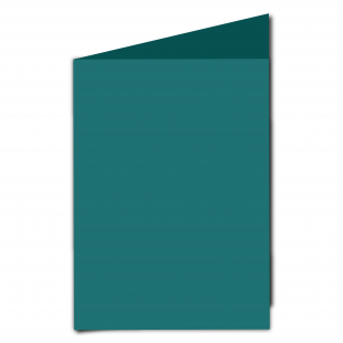 A5 Teal Card Blanks