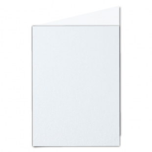 A5 Ultra White Pearlised Card Blanks