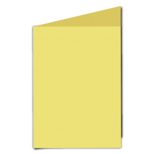 Giallo Woodstock Card Blanks Double sided 285gsm-A5-Portrait