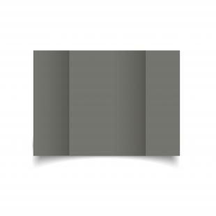 A5 Gatefold Antracite Sirio Colour Card Blanks