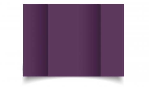 A5 Gatefold Vino Sirio Colour Card Blanks