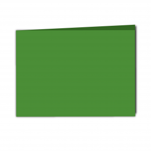 A5 Landscape Apple Green Card Blanks