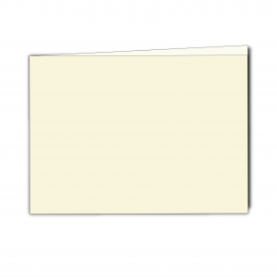 A5 Landscape Ivory Pearlised Card Blanks
