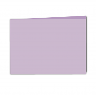 A5 Landscape Lilac Card Blanks