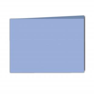 A5 Landscape Marine Blue Smooth Card Blanks