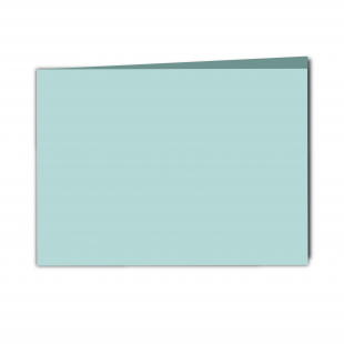 A5 Landscape Pale Turquoise Card Blanks