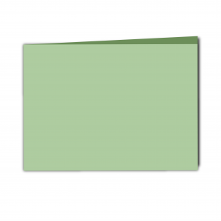 A5 Landscape Spring Green Card Blanks